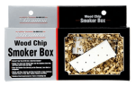 Chef Master / Mr. Bar B Q 02109P Smoker Box with Lid, Stainless Steel