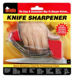 Chef Master / Mr. Bar B Q 90015GDCM Extra Large Professional Knife Sharpener, Reversible Blades