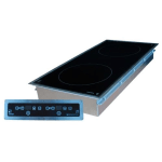 Equipex GL2-3500DI Drop-In Commercial Induction Cooktop w/ (2) Burners, 208-240v/1ph