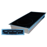 Equipex GL2-6000DI Drop-In Commercial Induction Cooktop w/ (2) Burners, 208-240v/1ph