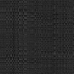 """Snap Drape TCL52ROBLK 52"""" Round Classic Linen Overlocked Tablecloth - Polyester, Black"""