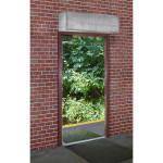 """Curtron E-IBD-60-1 Insect Control Air Curtain for Service Entrance w/ 2 Blower Wheel, 60 x 120"""""""