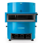 TurboChef FIRE Countertop Pizza Oven - Single Deck, 208 240v/1ph, Blue