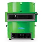 TurboChef FIRE Countertop Pizza Oven - Single Deck, 208 240v/1ph, Green