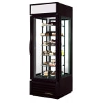 "True G4SM-23-RGS-LD 28"" Self Service Bakery Case w/ Straight Glass - (6) Levels, White, 115v"