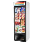 "True GDM-19T-F-LD 27"" One-Section Display Freezer w/ Swinging Door - Bottom Mount Compressor, 115v"