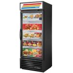 "True GDM-26F-HST-HC~TSL01 30"" One-Section Display Freezer w/ Swinging Door - Bottom Mount Compressor, 115v"