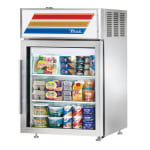 "True GDM-05-S-HC-LD 24"" Countertop Refrigerator w/ Front Access - Swing Door, Stainless, 115v"