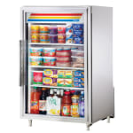 "True GDM-07-S-HC~TSL01 24"" Countertop Refrigerator w/ Front Access - Swing Door, Stainless, 115v"