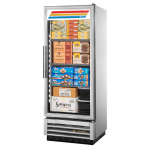 "True T-12FG-HC~FGD01 24.88"" One-Section Display Freezer w/ Swinging Door - Bottom Mount Compressor, 115v"