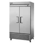"True TS-43F-HC 47"" Two Section Reach-In Freezer, (2) Solid Doors, 115v"