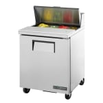 "True TSSU-27-08-HC 27"" Sandwich/Salad Prep Table w/ Refrigerated Base, 115v"