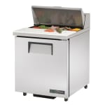 "True TSSU-27-08-ADA-HC 27"" Sandwich/Salad Prep Table w/ Refrigerated Base, 115V"