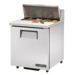 """True TSSU-27-08-ADA-HC 27"""" Sandwich/Salad Prep Table w/ Refrigerated Base, 115v"""