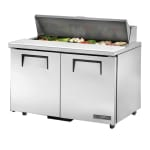 "True TSSU-48-12-ADA-HC 48"" Sandwich/Salad Prep Table w/ Refrigerated Base, 115v"