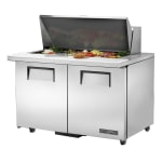 "True TSSU-48-18M-B-ADA-HC 48"" Sandwich/Salad Prep Table w/ Refrigerated Base, 115v"