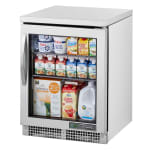 True TUC-24G-HC~FGD01 Undercounter Refrigerator w/ (1) Section & (1) Door, 115v