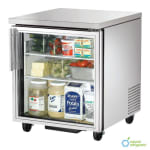 True TUC-27G-HC~FGD01 6.5-cu ft Undercounter Refrigerator w/ (1) Section & (1) Door, 115v