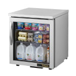 True TUC-27G-LP-HC~FGD01 6.5-cu ft Undercounter Refrigerator w/ (1) Section & (1) Door, 115v