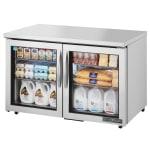 True TUC-48G-ADA-HC~FGD01 12 cu ft Undercounter Refrigerator w/ (2) Sections & (2) Doors, 115v