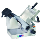 "Globe 3600N 13"" Manual Food Slicer w/ Touchpad Controls, Stainless, 115v"