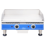 "Globe PG24E 24"" Electric Griddle - Thermostatic, 3/8""  Plate, 240v/1ph"