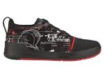 Mozo 3830 10 Mens 125th Street Print Shoes w/ Heel Pull Tab & Lightweight, Size 10