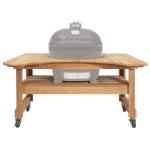 "Primo PRM601 Cypress Table for Kamado, 61 x 38 x 32"""