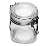 Libbey 17209925 25.25 oz Glass Jar - Clamp Lid, Large Opening, Rubber Seal