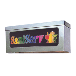 Saniserv J00227 Light Box For 707