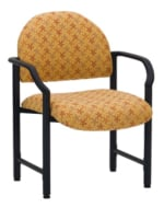 Ergocraft E-18520-HD Lakeport Reception Chair w/ Medium Back, 400-lb Capacity