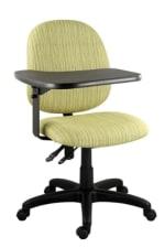 Ergocraft E-31952V-TAB Institutional Tablet Chair w/ Flip-Away Writing Tablet, Medium Back