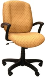 Ergocraft E-46981-KT Zoey Executive Chair w/ Knee Tilt & 1-Paddle Control, High Back