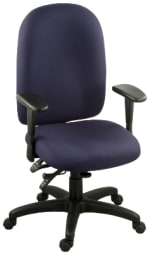 Ergocraft E-50184 Palisades Task Chair w/ High Back & 4-Paddle Executive Control