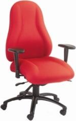 Ergocraft E-85682 Atlas Executive Task Chair w/ High Back & 2-Paddle Control, Adjustable Height