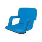Picnic Time 618-00-139-000-0 Ventura Backpack Seat - Water Resistant, Steel Frame, Armrests, Royal Blue