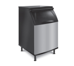 "Koolaire K-570 30"" Wide 430 lb Ice Bin with Lift Up Door"