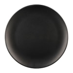 "Elite Global Solutions ECO99R 9"" Round Greenovations Plate - Melamine/Bamboo, Black"