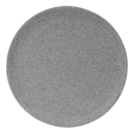 "Elite Global Solutions RT12R 12"" Round Tenaya Plate - Melamine, Granite Stone"