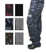 Chef Revival P040PP-3X Cotton Chef Pants, 3X, Pepper Print