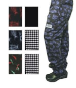 Chef Revival P040PP-XS Cotton Chef Pants, X-Small, Pepper Print