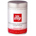 Illy 00489 8.8-oz Fine Grind Medium Roast Espresso Coffee