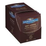 Ghirardelli 62083 1.5-oz Double Chocolate Premium Hot Cocoa Pouch