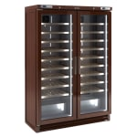"Infrico IMD-EVV200MX 53.75"" Two Section Wine Cooler w/ (2) Zone, 200 Bottle Capacity, 115v"