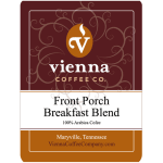 Vienna Coffee WFPBBW-12 12 oz Whole Bean Coffee, Front Porch Breakfast Blend