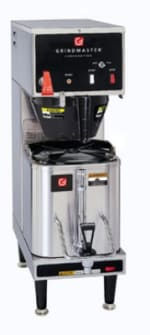 Grindmaster P200E Single Coffee Brewer for 1.5 gal Shuttle - Automatic, Fresh Brew, 120v
