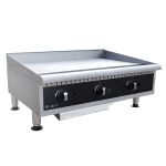 "Centaur ABMG36 36"" Gas Griddle - Manual, 3/4"" Steel Plate, NG"
