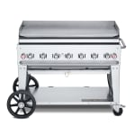 "Crown Verity MG-48LP 48"" Mobile Gas Commercial Outdoor Griddle, LP"