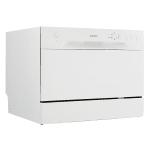 Danby DDW621WDB Countertop Dishwasher w/ (6) Wash Cycles - White, 120v