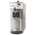 Spaceman 6210 Soft Serve Ice Cream Machine w/ (1) 8.5 qt Flavor Hopper, 115v
